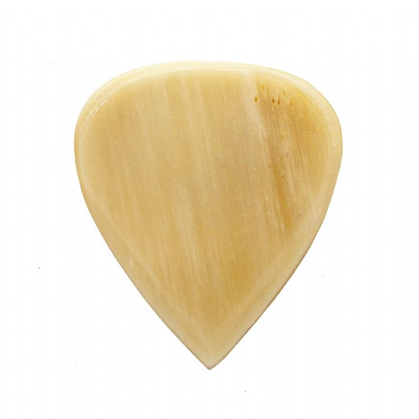Jazz Tones - White Horn - 1 Guitar Pick | Timber Tones